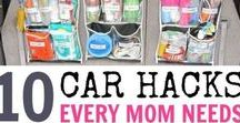 Family Road Trip / Taking a road trip with young kids? Check out these car hacks and road trip ideas.