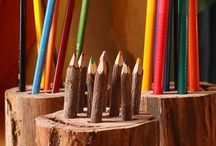 DIY Classroom Ideas / A collection of DIY ideas that add beauty and function to any classroom....