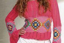 Knitting & crochet / 最近また編み物熱復活!?糸とデザインが見事合ったら、全て忘れて編み続けます!