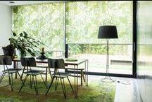 Gordijnen, Raamdecoratie / window fashion / Inspiratie voor je raam.