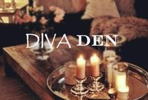 Diva Den / Why should men have all the fun? You've heard of the man cave, why not a diva den? Give yourself a place to unwind and relax.