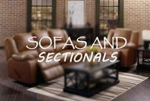 Sofas and Sectionals / Our huge line of sofas and sectionals from top brands like Palliser.