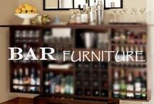 Bar Furniture / Bars are a great addition to any home theater, man cave, or diva den. Serve snacks and drinks in style without running to the kitchen every two seconds!