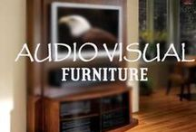 Audio Visual Furniture / Home Theater Gear has a lot more to offer, including beautiful furniture for your audio and visual needs. / by HomeTheater Gear
