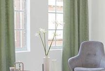 Gordijnen / Curtains / Op zoek naar raambekleding? Biggelaar Verf en Wand in Breda is specialist in gordijnen zoals vitrage, inbetweens, overgordijnen, vouwgordijnen. Wij zijn dealer van Vadain, Eijffinger, Your Edition en Hooked on Walls