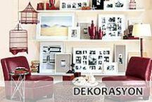 Dekorasyon / Eviniz için birbirinden güzel dekorasyon ipuçları, pratik bilgiler ve dekoratif ürünler Home Showroom'da...