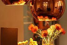 Kleur van het jaar..... / Warm en verrassend. Koper Oranje weerspiegelt een positievere kijk op de wereld en vertegenwoordigt een nieuwe nadruk op het concept van delen.