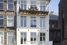 Verf je buitenmuur/gevel! / Ieder jaar zijn vele woningbezitters aan de beurt om de buitenkant van hun woning te verven, maar welke kleur? Doe hier alvast inspiratie op.
