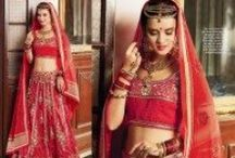 Bridal Lehenga Cholis Collection / This wedding season dress up exclusive rich look bridal lehenga cholis. A new style, new design, new fashion and best offering prices at www.fabionafashion.com