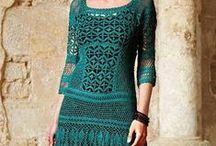 Háčkování - šaty 1 - Crochet dress 1