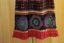 Háčkované sukně 1