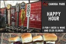 Happy Hour in Woodland Hills / Here is where you will find the best bang for your buck at these wonderful local restaurants!
