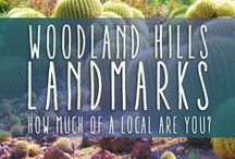 Woodland Hills Landmarks / Just a little collection of all those signs and landmarks we know and love in Woodland Hills.