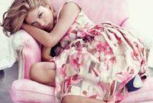 C. Pink