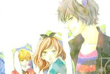 """Ao Haru Ride / """"The scent of air after the rain... I heard your pulse. I saw the light."""""""