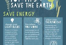go green / It's not easy being green. Ways to keep Mother Nature smilin'.