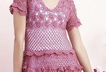 Háčkované šaty 6 - Crochet dress 6