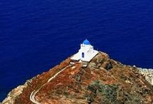 Sifnos island / Blue, white, sea and Sifnos.... This island is love at first sight...