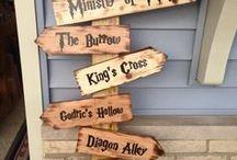 -- Hogwarts DIY-- / Harry Potter / Hogwarts / DIY To bring some Magic into your life
