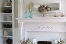 Hearth and Home / ideas and inspiration for the den / family room / by Page Farm Chick (Deb Daniel)