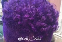 Natural hair 'do / by Coilylocks