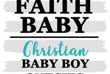 CHRISTIAN BABY BOY ONESIES #FaithBaby / Christian baby onesies for your little guy