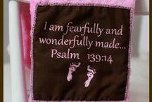 Faith Baby Christian Burp Cloths / Christian gift ideas for newborns. www.FaithBaby.com