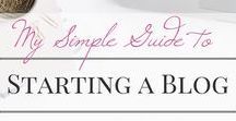 // blogging resources / Resources to help organizing your blog with tips, tricks, tutorials, and printables.