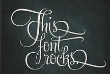 Font's Fabulous Font's / by Becky Smith Glista