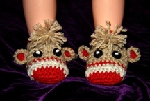 Crochet Baby Booties and More / by Becky Smith Glista