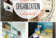 Home : Organisation / Organising the home.