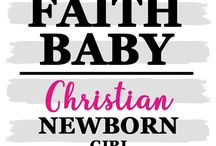 CHRISTIAN NEWBORN BABY GOWNS #FaithBaby / Our large selection of newborn baby gowns are the perfect gift for a new mama