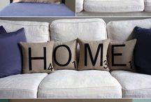 Sew : Decor / Sewn home decor.