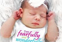 BABY SHOWER GIFTS #FaithBaby / Be a part of her special memory by sharing the love of Jesus with our Faith Baby apparel.