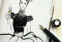illustrations i love by Megan Hess
