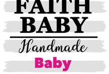 BABY BONNETS HANDMADE #FaithBaby / Handmade Baby Bonnets