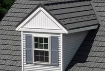 Cedar Shake Inspired Metal Roof Shingles / Our Rustic Shingle Metal Roofing is an high-quality aluminum roofing solution that will increase the value of your home by providing energy savings and ever-lasting beauty. Rustic Shingle features a realistic wood grain texture designed to look identical to wood shake shingles! Unlike wood roofing, Rustic Shingle will never warp, mold, rot or split; eliminating the need for costly maintenance or replacement.