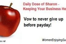 Keeping Your Business Healthy / You will find a daily dose of inspiration to keep your business healthy and prosperous.