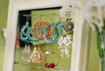 Creative Jewelry Storage / Creative Jewelry Storage Ideas - DIY, Refurbished or new.