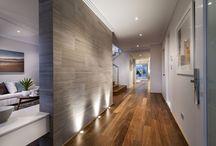 INTERNAL. FEATURE. WALLS. / Internal feature walls can transform an internal space, adding colour & texture.