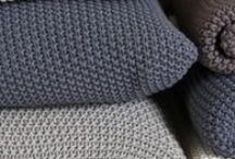 DIY Tricot / Du faire soi-même en laine! Déco, créations, etc..!