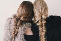 HAIR / Fun, pretty, cute hairstyles