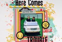 Katty Miranda Scrapbooking Layouts / Here is a collection of some of my favorite scrapbooking layouts created by me.