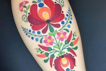 Tattoo embroidery
