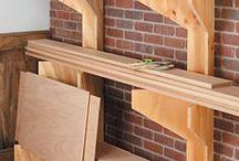 Raflar, depolama, ağaç işçiliği,Shelves, storage , woodworking