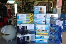 Direct Pool Supplies / Some products we keep in our retail shop...