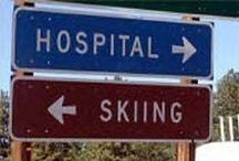 """Keep calm and go skiing"""
