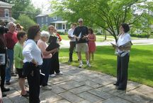 Tours / Learn about Oberlin through various tours and history walks offered all year long