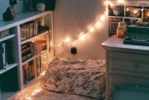Ideas for Bedroom decor / Some ideas that may be useful for decorating my room! / by Tales Of The Small