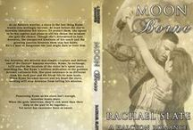 Moon Borne by Rachael Slate / Book 1 in the Halcyon Romance Series